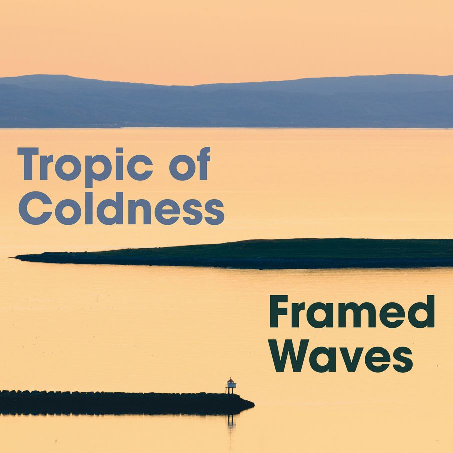 "Tropic of Coldness "" Framed Waves """